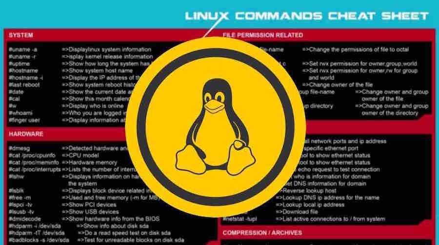 Tổng hợp lệnh các Linux dùng để xử lý các vấn đề