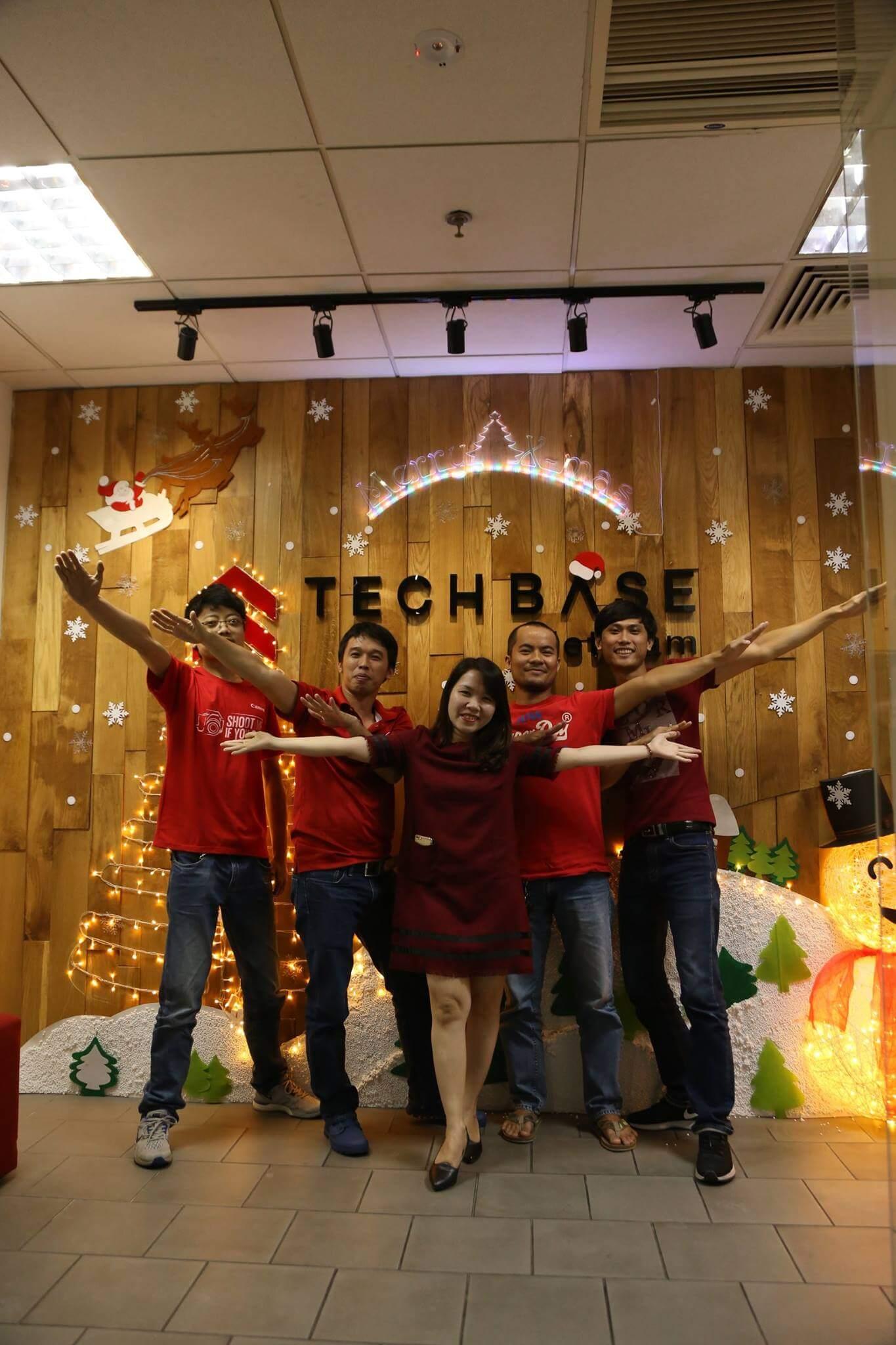 Join developer in Techbase VietNam Co., Ltd